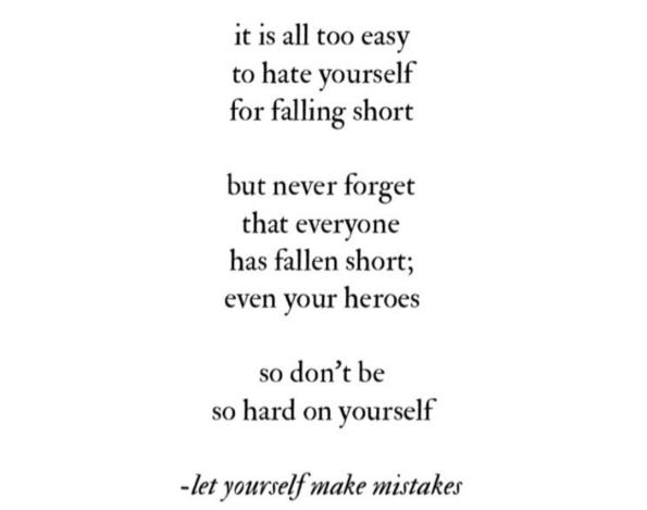 on myself